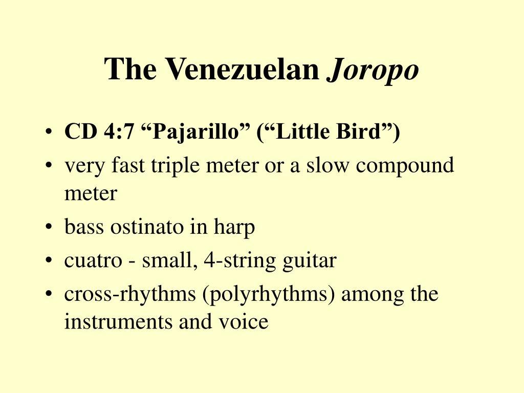 The Venezuelan