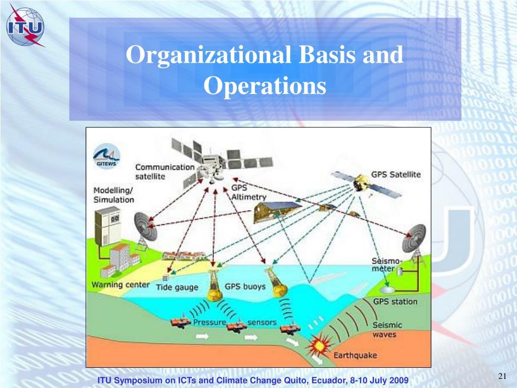 Organizational Basis and Operations