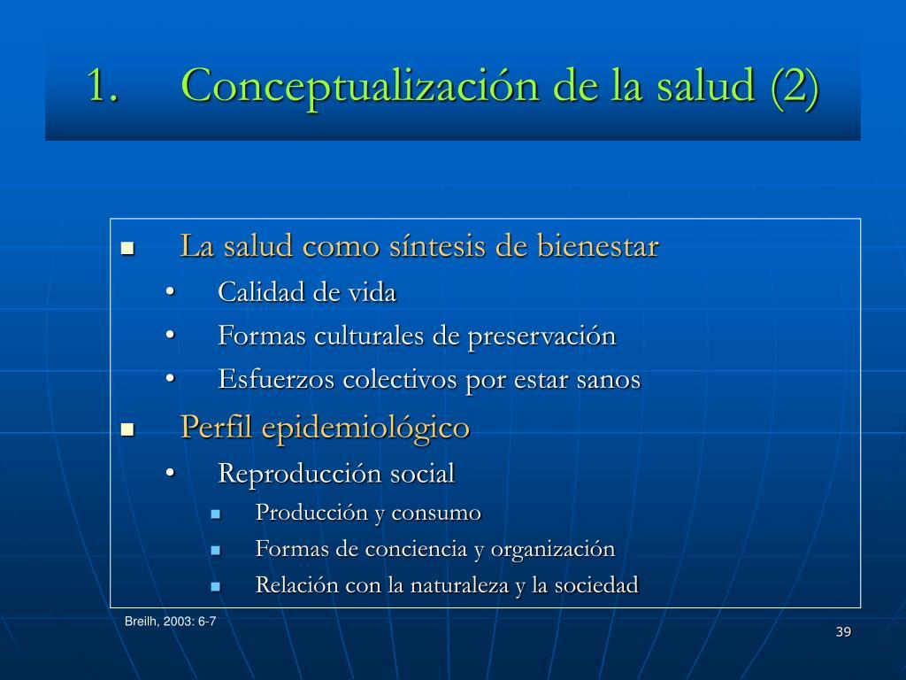 Conceptualización de la salud (2)