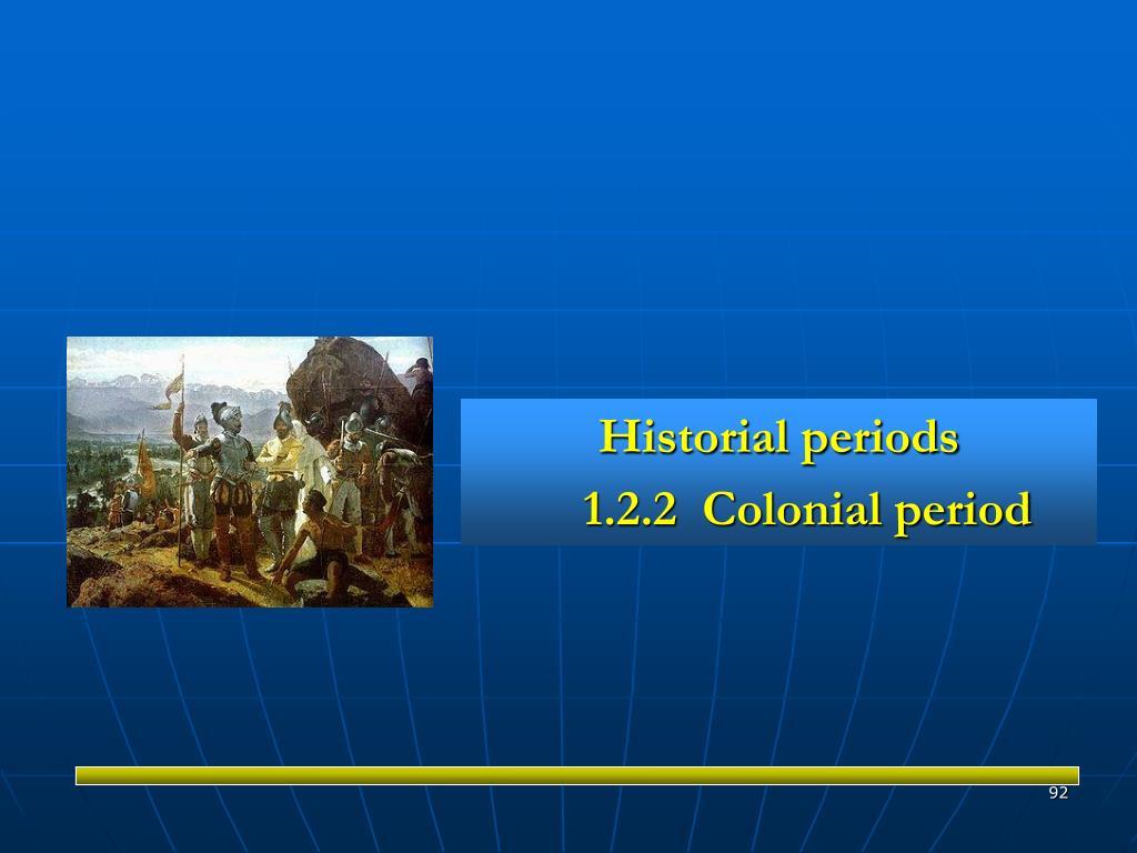 Historial periods