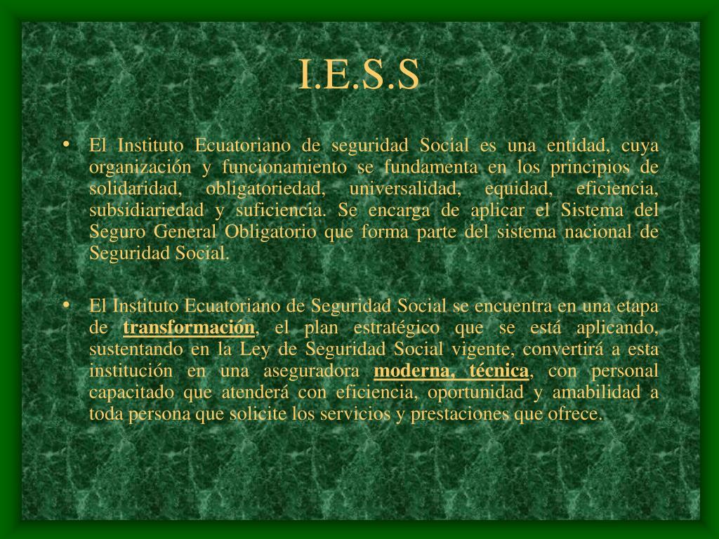 I.E.S.S