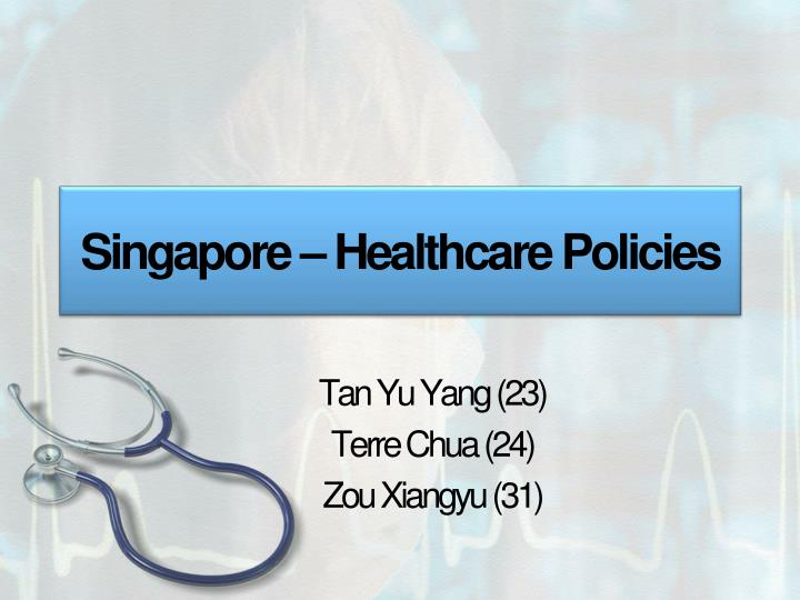 singapore healthcare policies