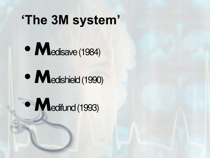 The 3m system
