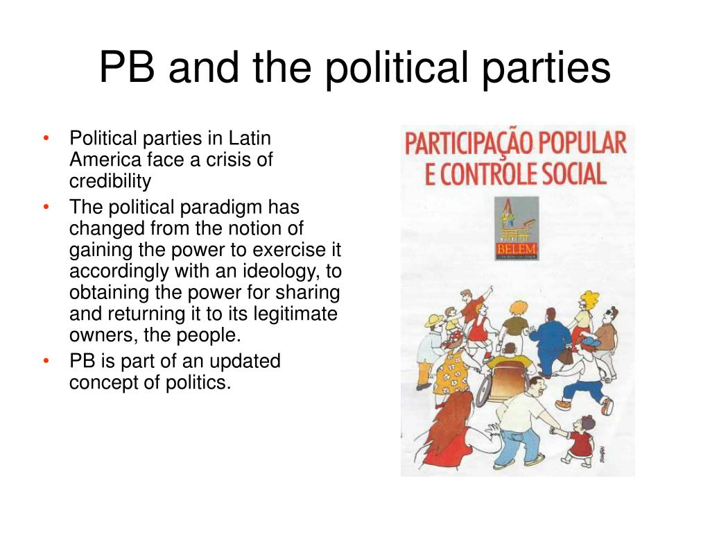 PB and the political parties