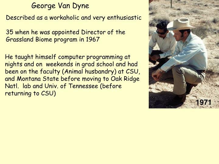 George Van Dyne