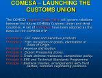 comesa launching the customs union17