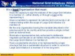 national grid initiatives ngis www eu egi eu fileadmin public deliverables egi ds d4 3 final pdf