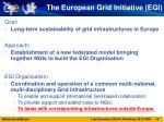 the european grid initiative egi