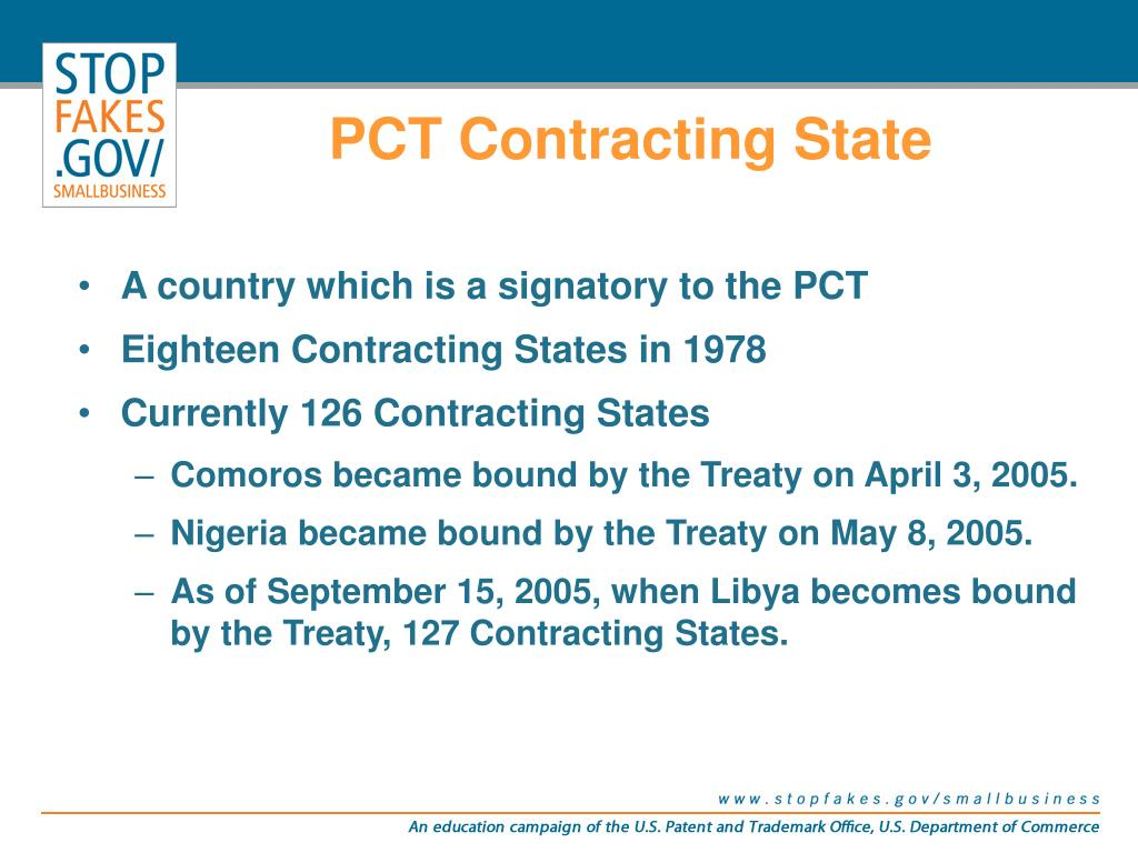 PCT Contracting State