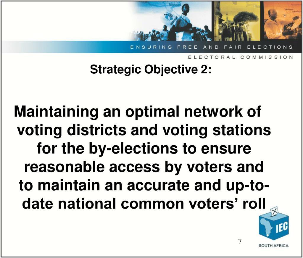 Strategic Objective 2: