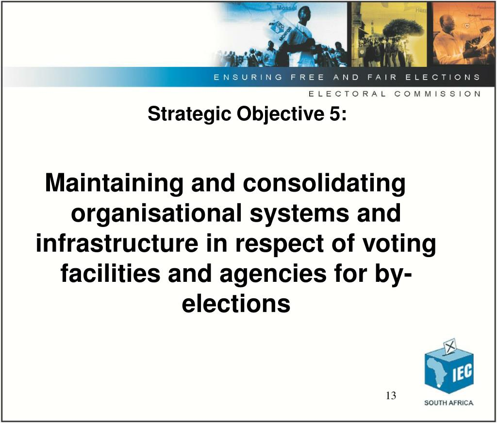 Strategic Objective 5: