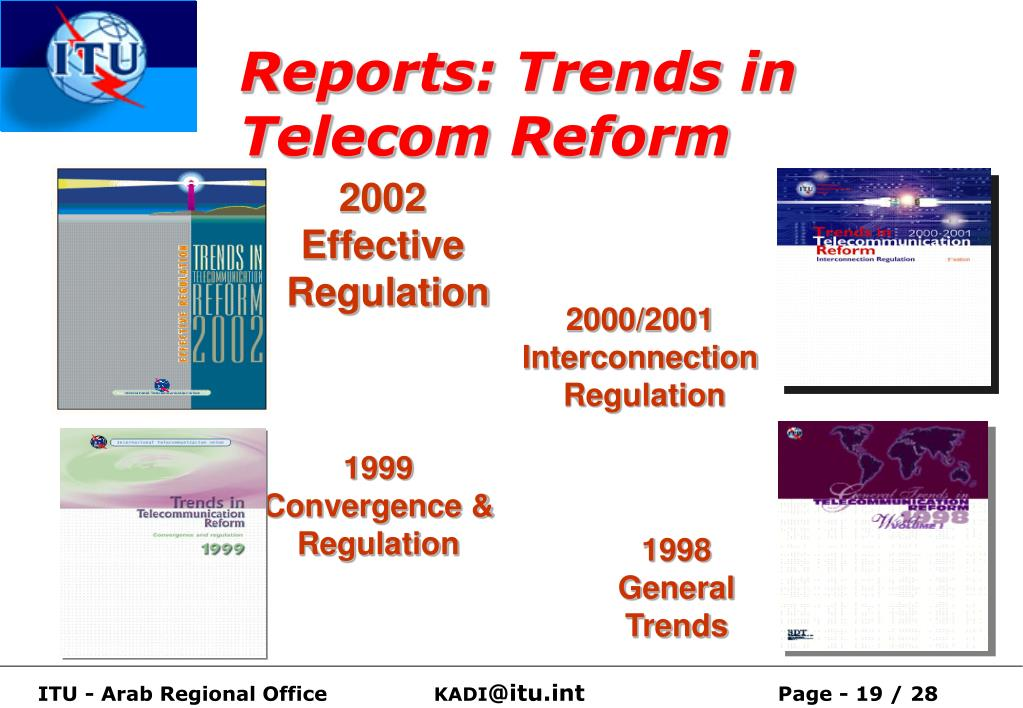Reports: Trends in Telecom Reform