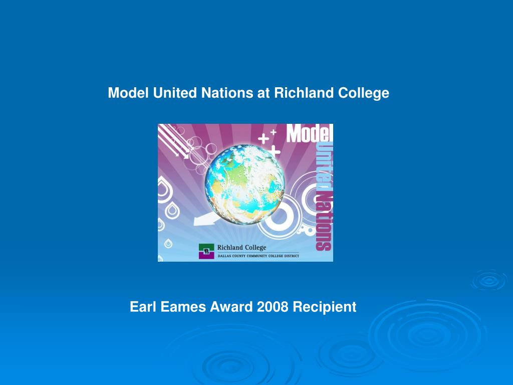 Model United Nations at Richland College
