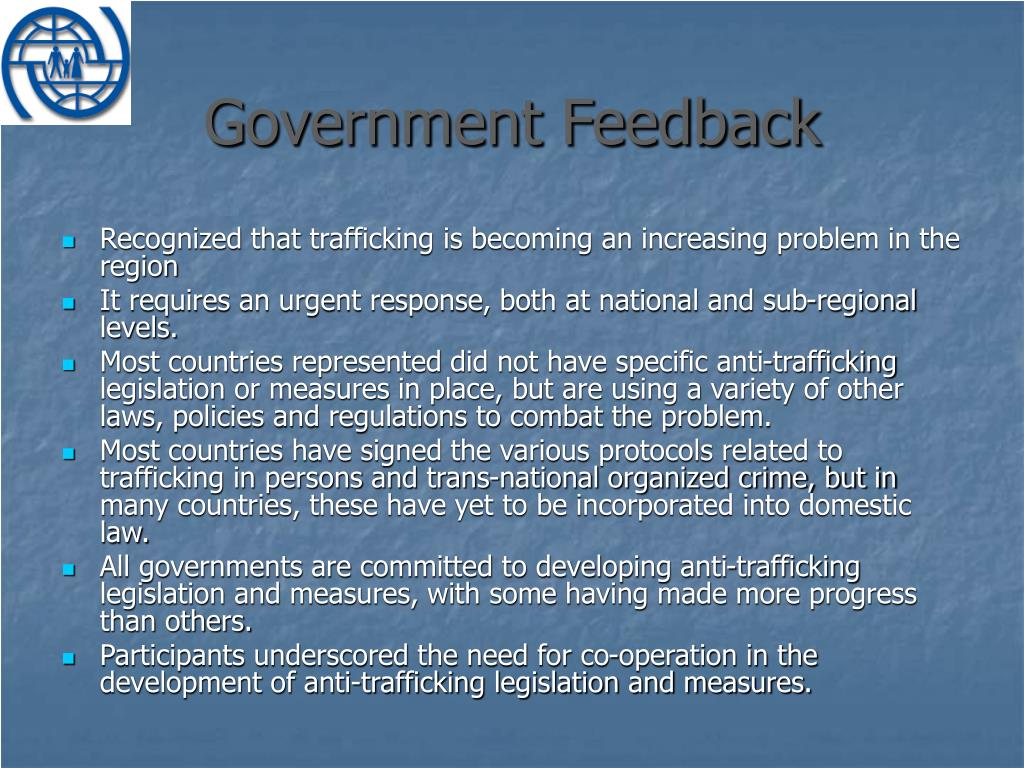 Government Feedback