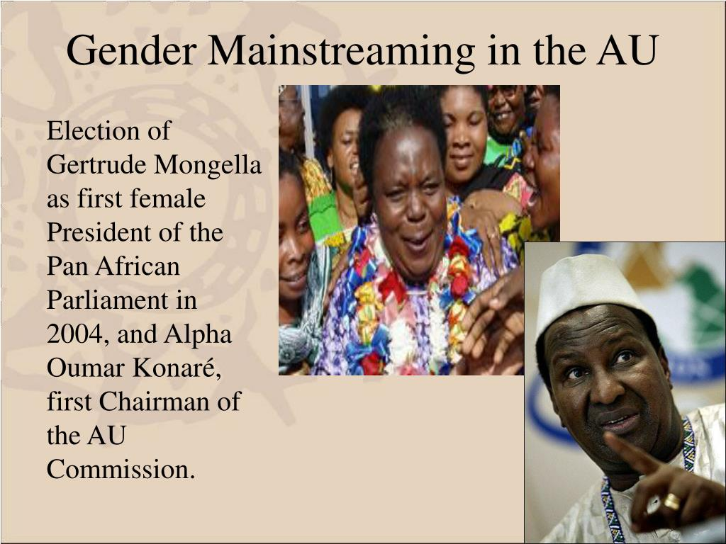 Gender Mainstreaming in the AU
