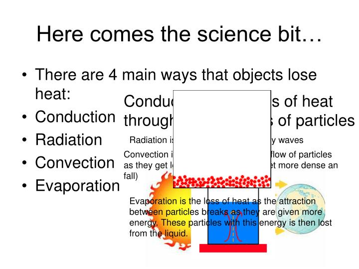 Here comes the science bit