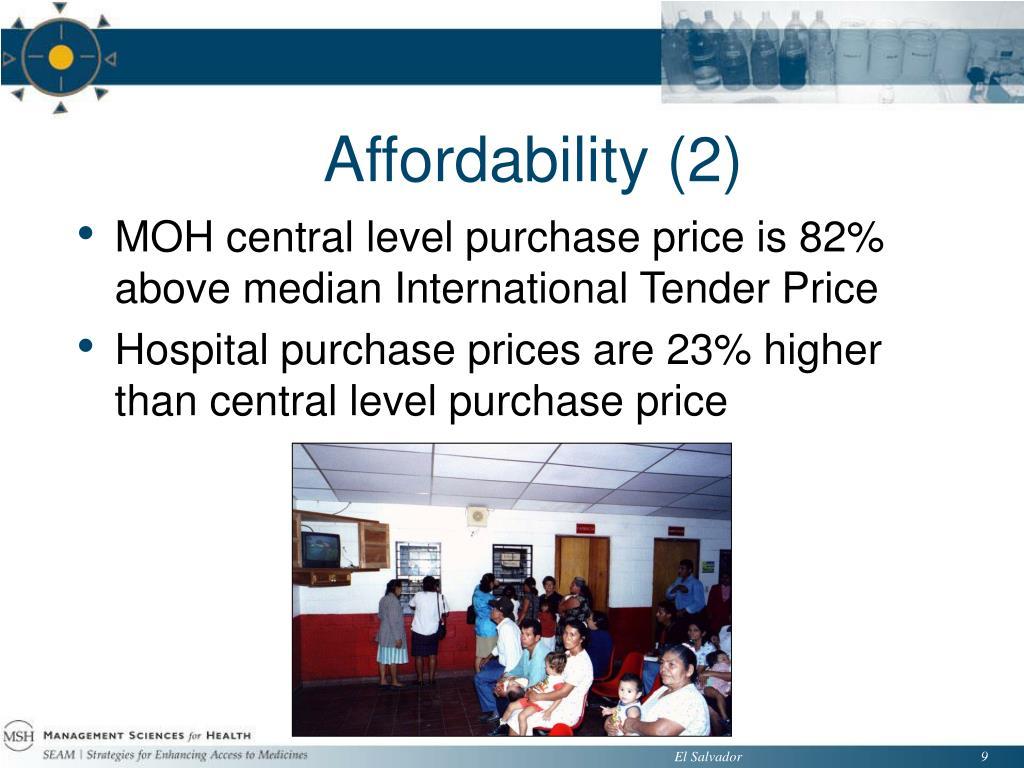 Affordability (2)