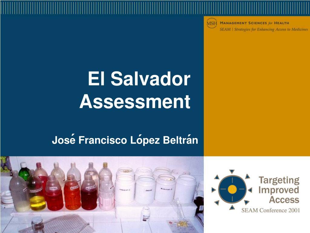 El Salvador Assessment