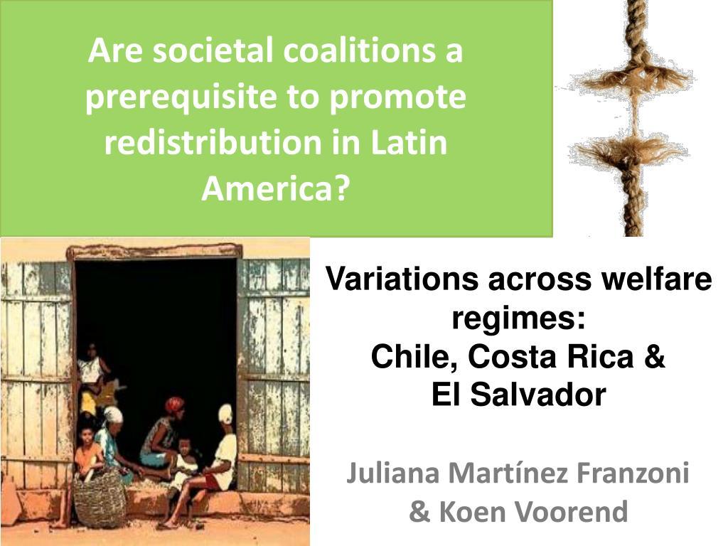Are societal coalitions a prerequisite to promote redistribution in Latin America?