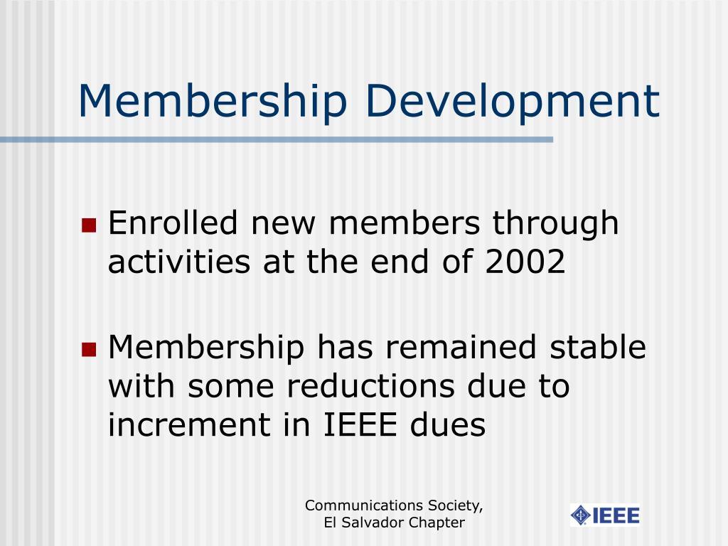 Membership Development