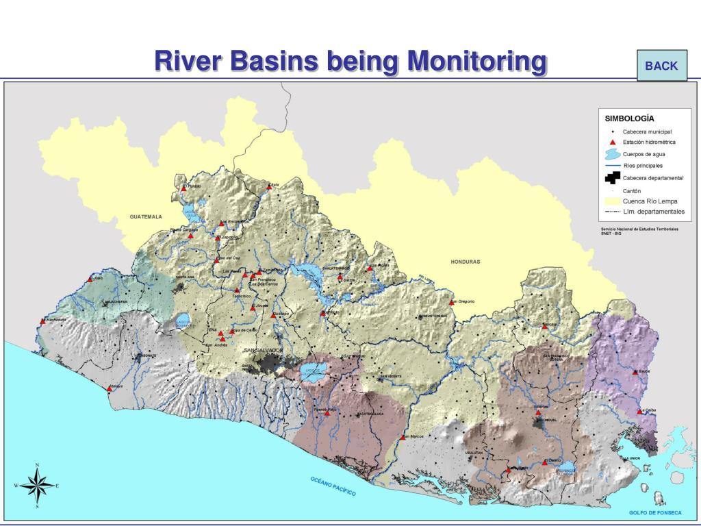 River Basins being Monitoring
