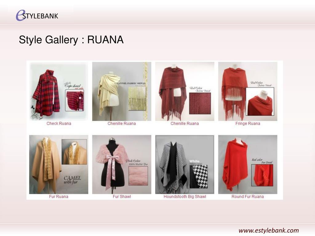 Style Gallery : RUANA