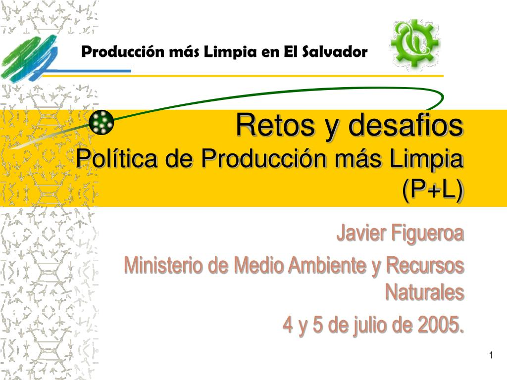 Producción más Limpia en El Salvador