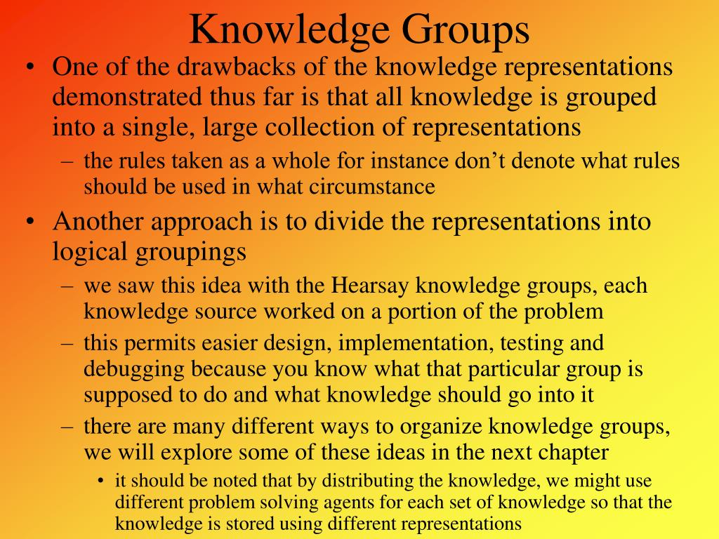 Knowledge Groups