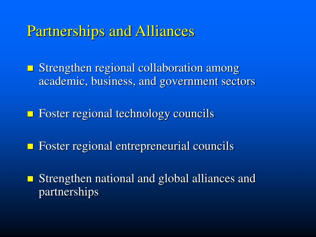 Partnerships and Alliances