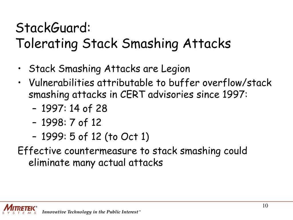 StackGuard: