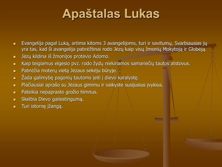 Apaštalas