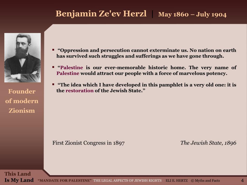 Benjamin Ze'ev Herzl