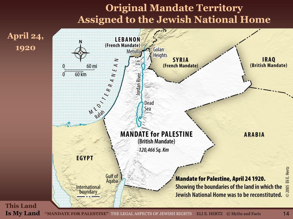Original Mandate Territory
