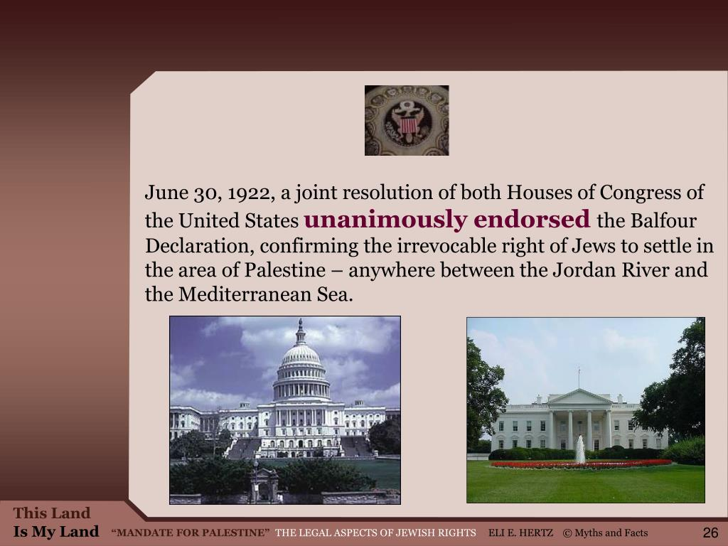 June 30, 1922, a joint resolution of both Houses of Congress of the United States