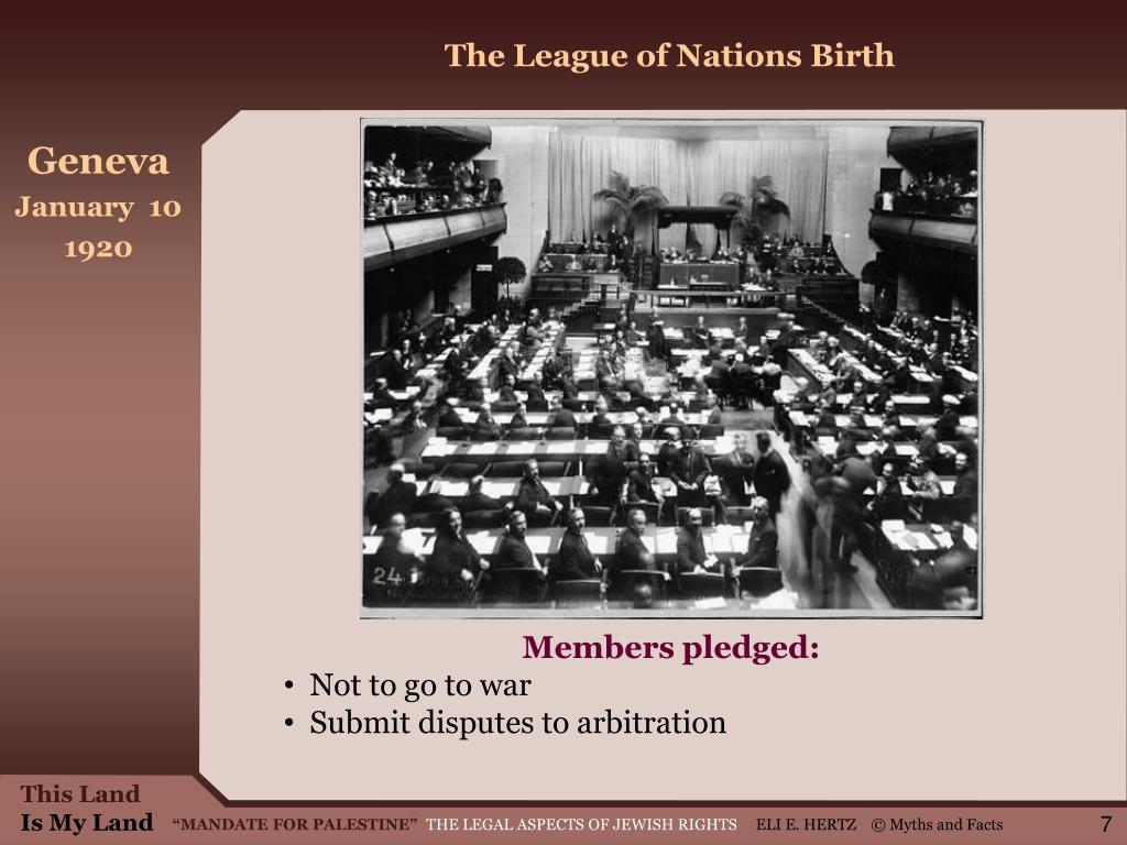 The League of Nations Birth