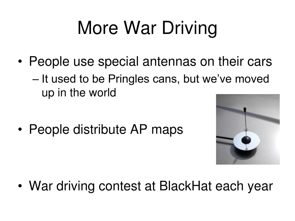 More War Driving