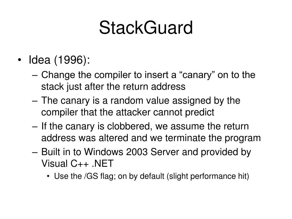 StackGuard