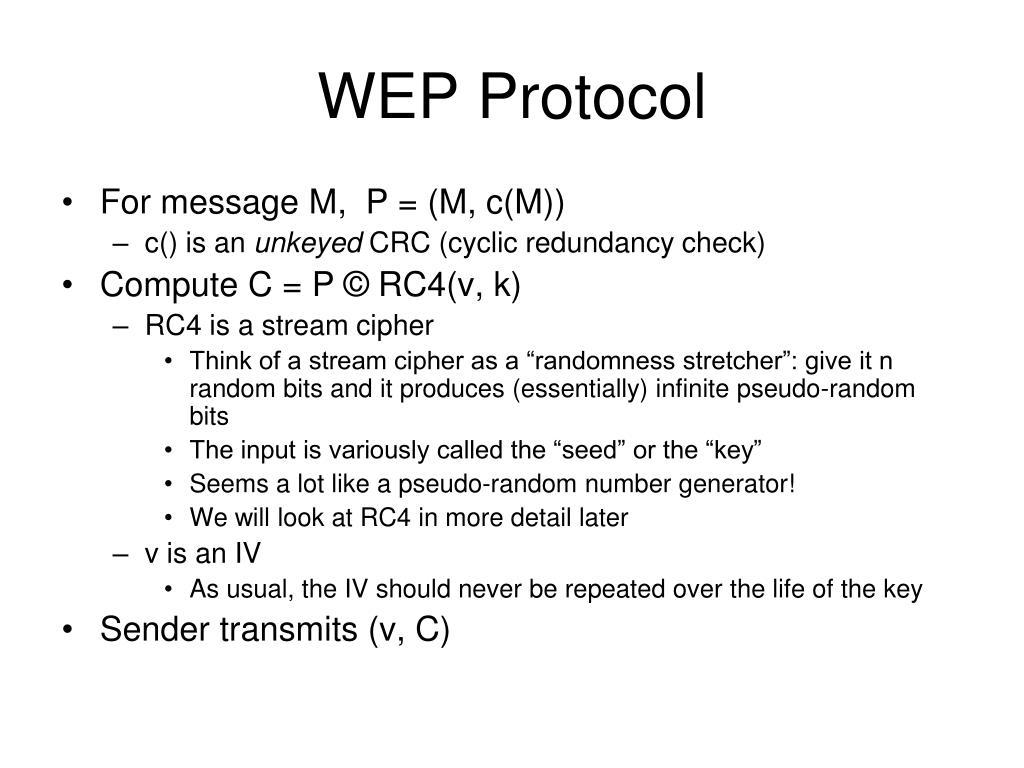 WEP Protocol