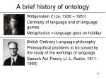 a brief history of ontology10