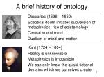 a brief history of ontology3