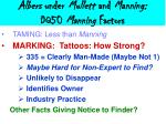 albers under mullett and manning dq50 manning factors48