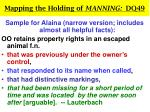 mapping the holding of manning dq4923