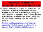 mullett v manning rule that covers both dq4837
