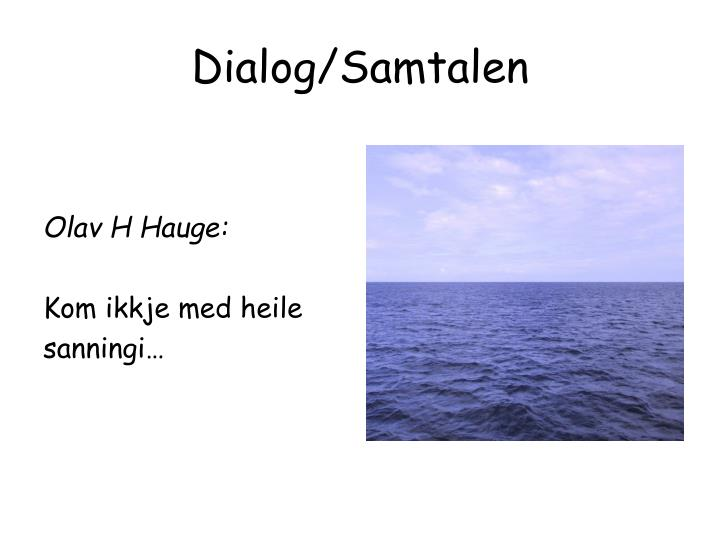 Olav H Hauge: