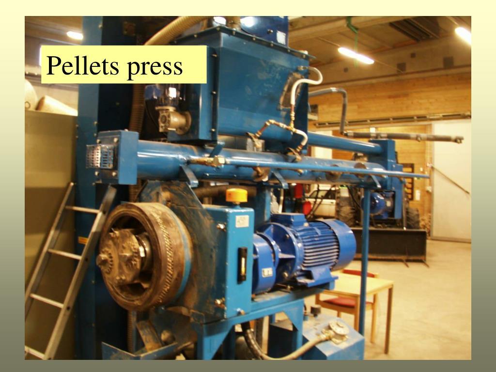Pellets press