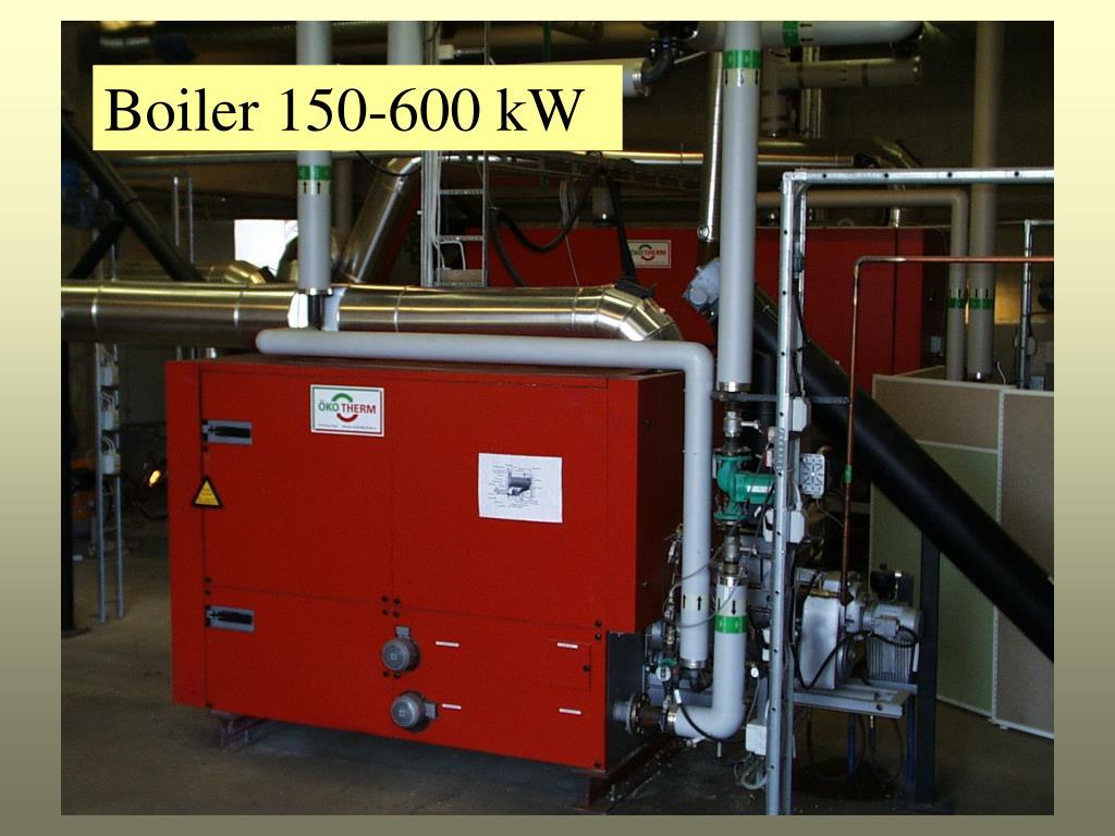 Boiler 150-600 kW