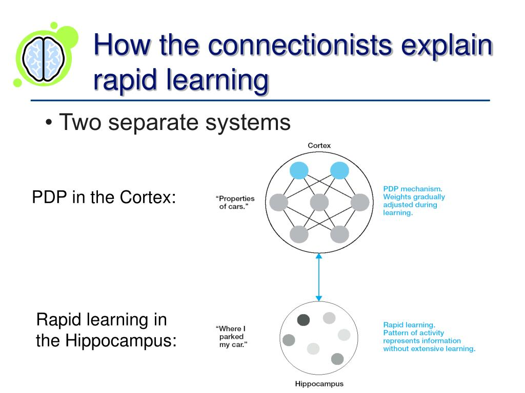 How the connectionists explain rapid learning