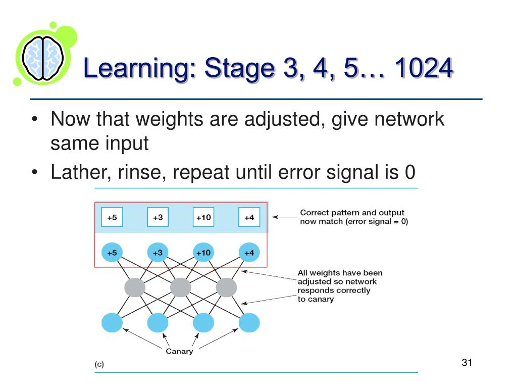 Learning: Stage 3, 4, 5… 1024