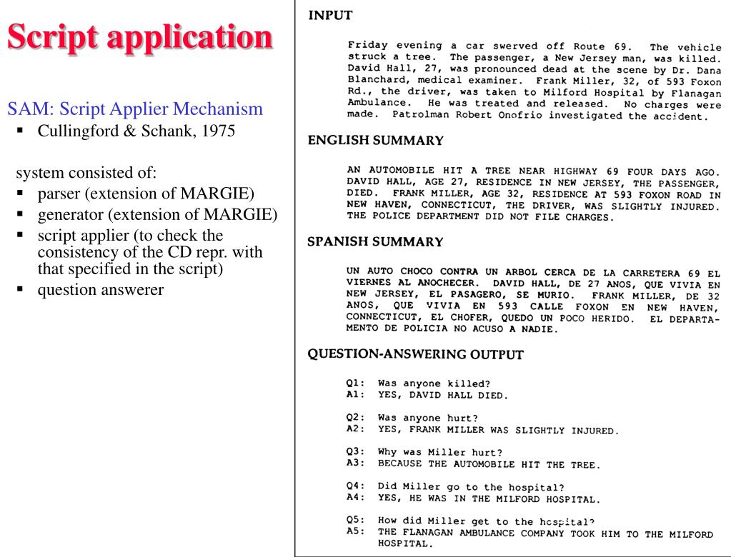 Script application