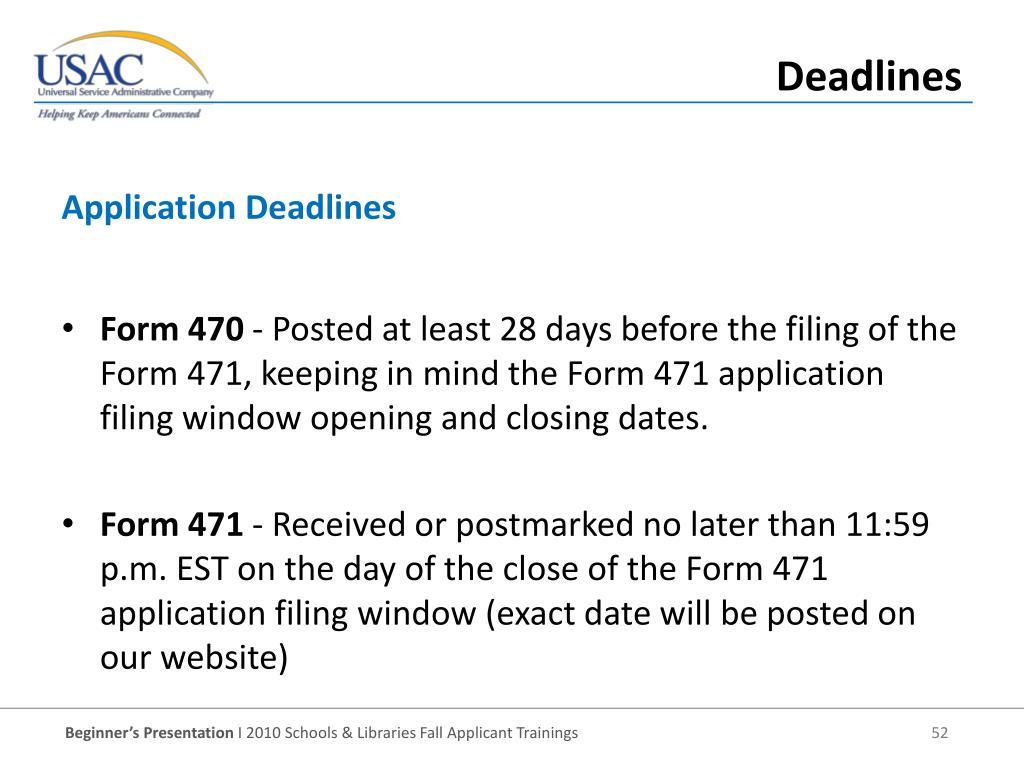 Form 470